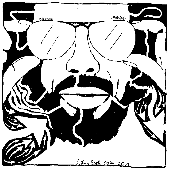 Gil Scott Heron Portrait Maze