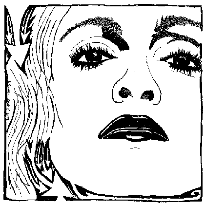 Madonna Ciccone Portrait Maze