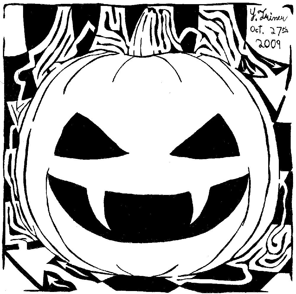 Maze-O-Lantern Halloween Maze