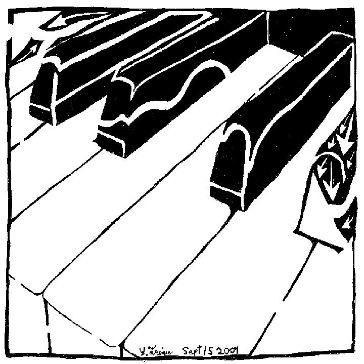 Maze of Piano Keys