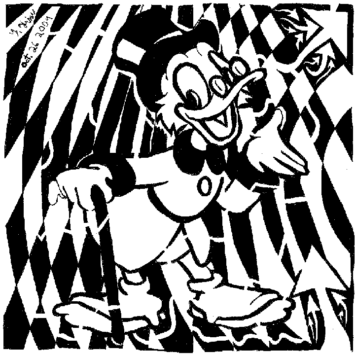 psychedelic mazes of uncle scrooge mcduck